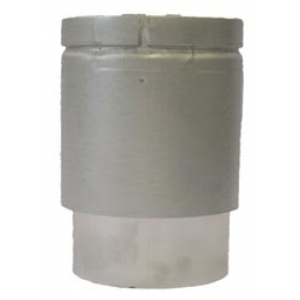 IL Gas Twin Wall Draughthood Connector