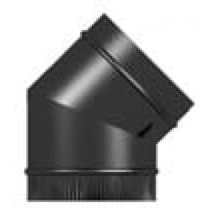 Vitreous Enamel 45° Elbow 125mm