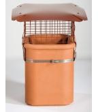 Square Brewer Birdgard Chimney Cowl