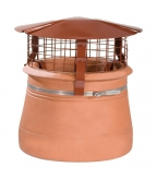 Brewer Birdguard Chimney Cowl/ Terracotta