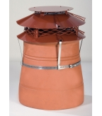 Brewer U.F.O Terracotta Chimney Cowl